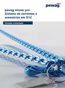 Catálogo PEWAG Winner PRO Sistema de Correntes e Acessórios em G12