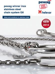 Catálogo Correntes e Acessórios em Aço Inox G6 para elevação de cargas