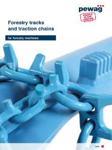 Catálogo Pewag Esteiras Bluetrack e correntes antiderrapantes Forstgrip - Florestal