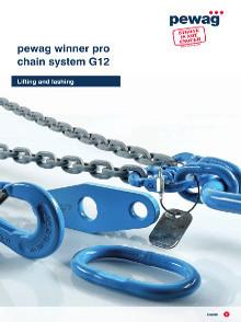 Catálogo Pewag winner Pro sistema de correntes Grau 12