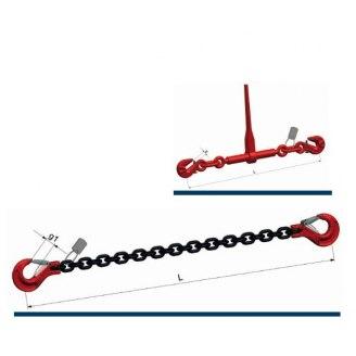 Correntes G8 para amarração de cargas ZK